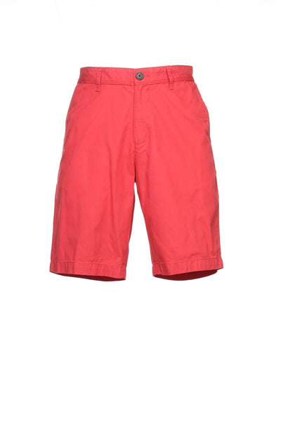 Original Penguin Mens Red Flat Front Walking Shorts