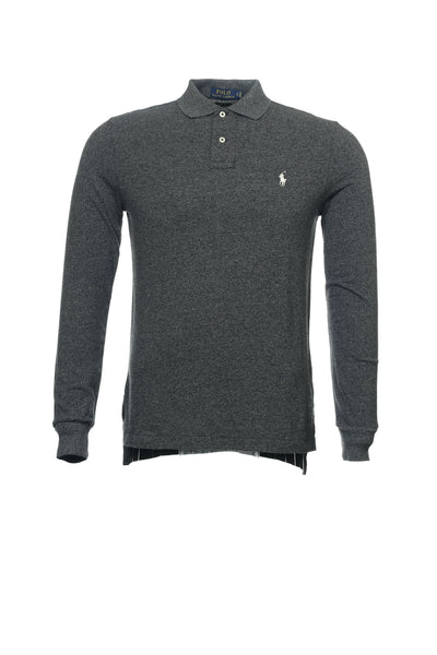 Polo by Ralph Lauren Mens Gray Heather Polo Shirt