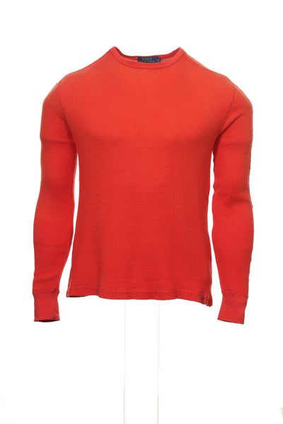 POLO by Ralph Lauren Mens Red Gradient Thermal Shirt
