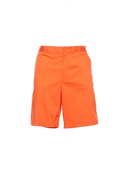 POLO by Ralph Lauren Mens Orange Flat Front Walking Shorts