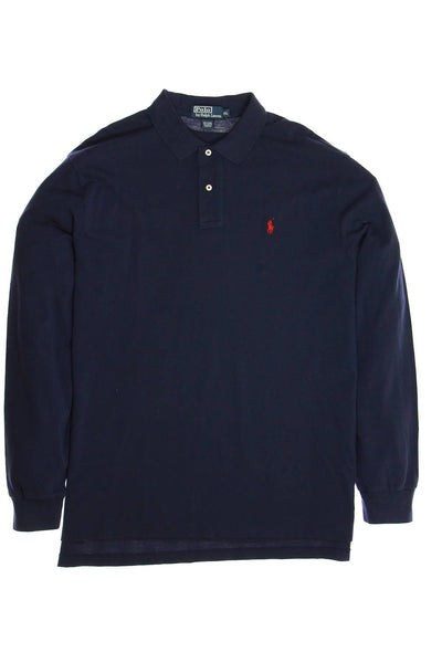 Polo by Ralph Lauren Mens Blue Polo Shirt
