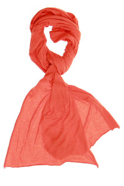 RLX by Ralph Lauren Mens Orange Scarf