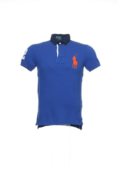 Polo by Ralph Lauren Mens Blue Rugby Shirt