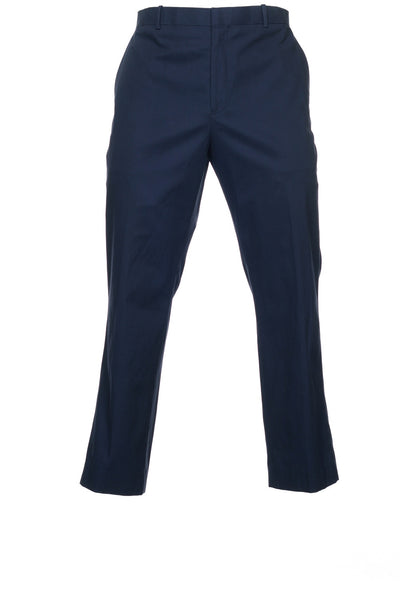 Tasso Elba Mens Blue Chino Pants