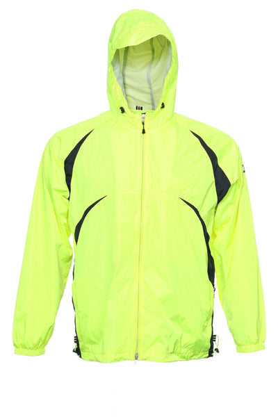 Tommy Hilfiger Mens Bright Yellow Color Block Hoodie