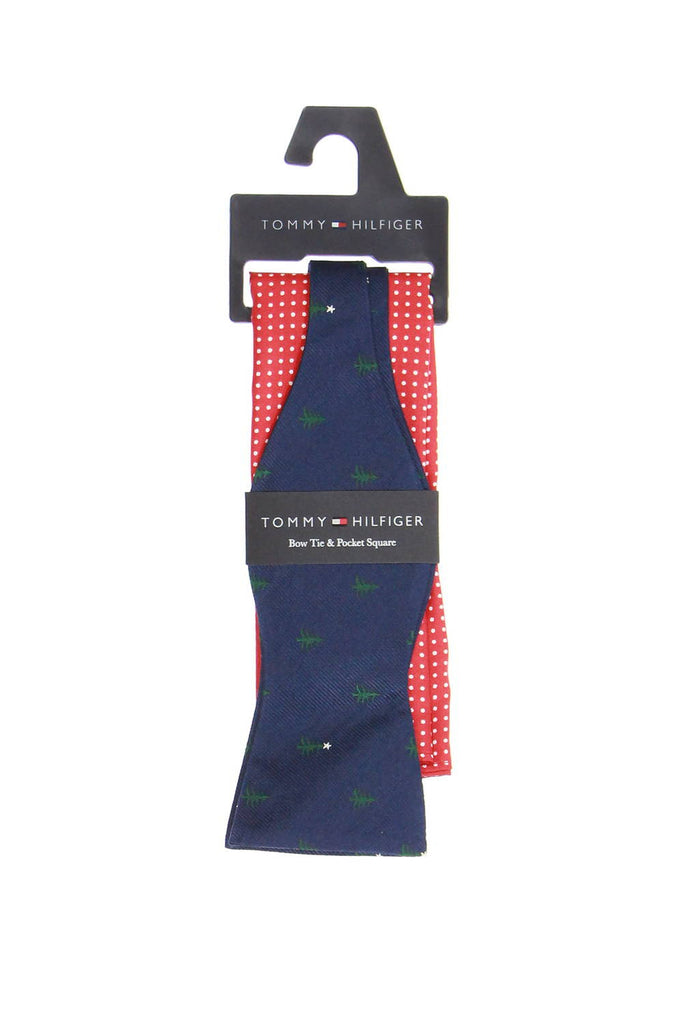 Tommy Hilfiger Mens Blue Novelty Box Set Tie
