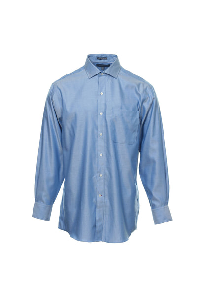 Tommy Hilfiger Mens Blue Gradient Button Down Shirt