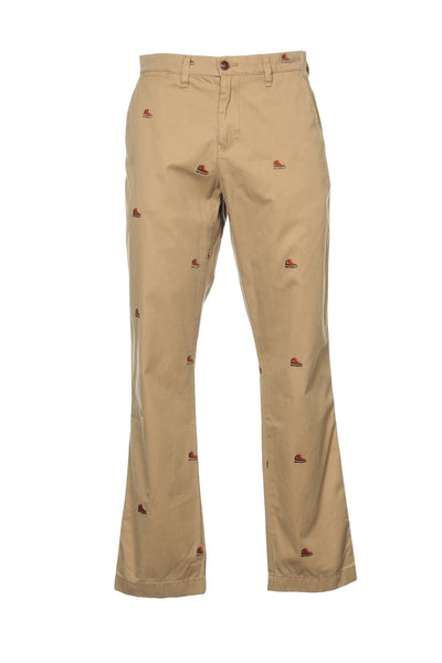 Tommy Hilfiger Mens Beige Novelty Chino Pants