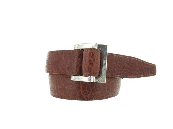 Trafalgar Mens Brown Dress Belt