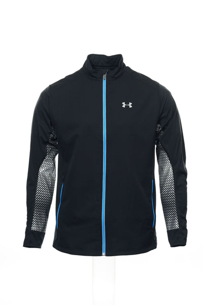 AllSeasonGear by Under Armour Mens Black Heather Track Jacket