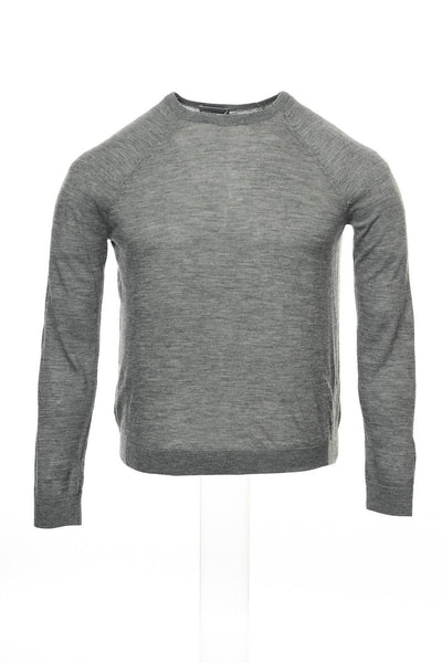 Vince Mens Gray Heather Crew Neck Sweater