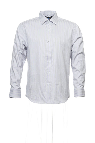 Vince Camuto Mens Light Purple Button Down Shirt