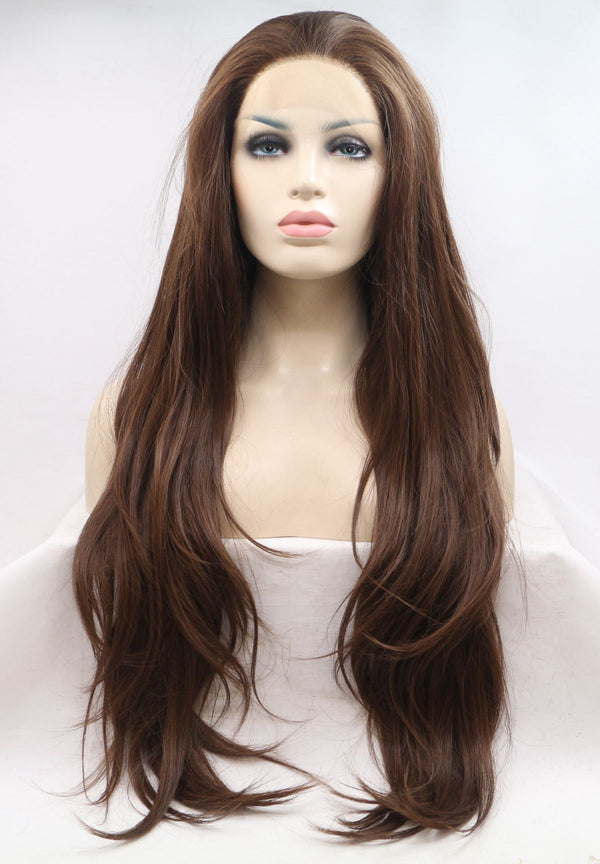 Aria Montgomery Natural Brown Lace Wig Pretty Little Secrets USW09