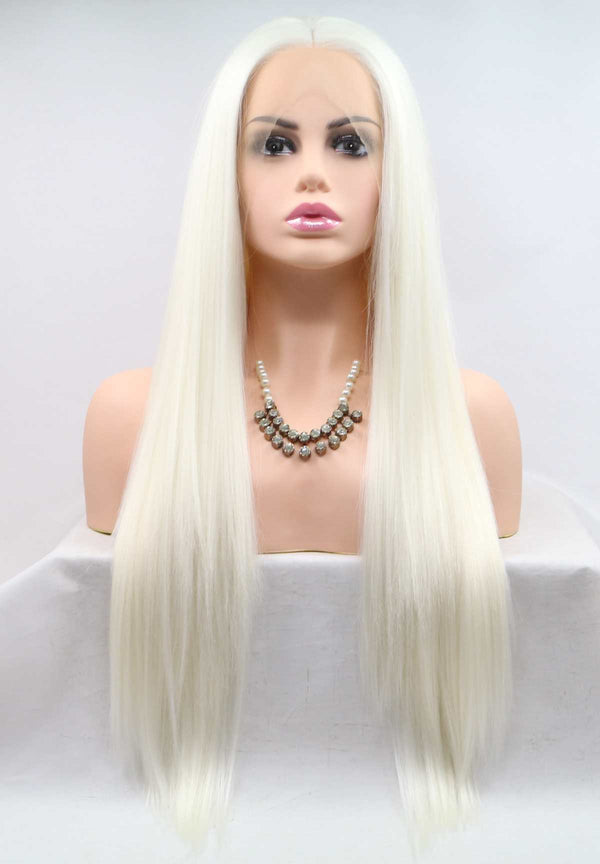 Cosplay White Wig Drag Queen USW028