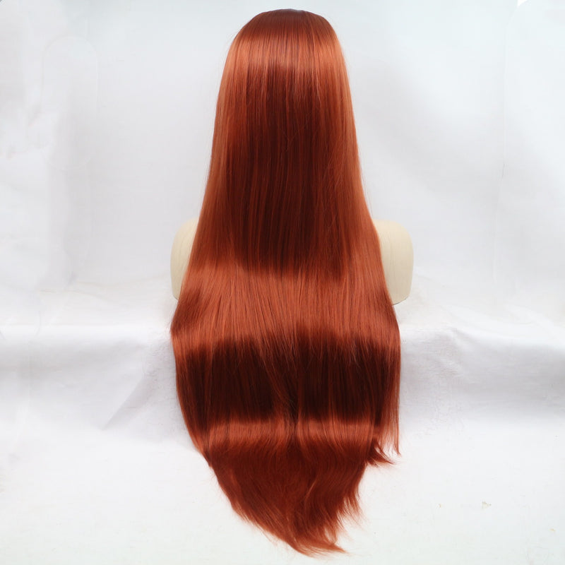 Gaea Silky Straight Long Hairstyle USW039