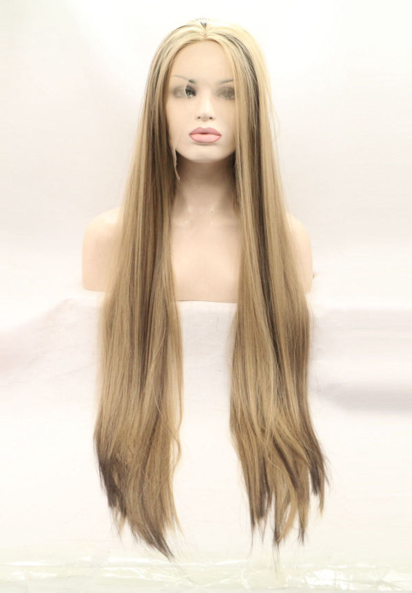 Sicily Straight Mixed Color Wig USW081