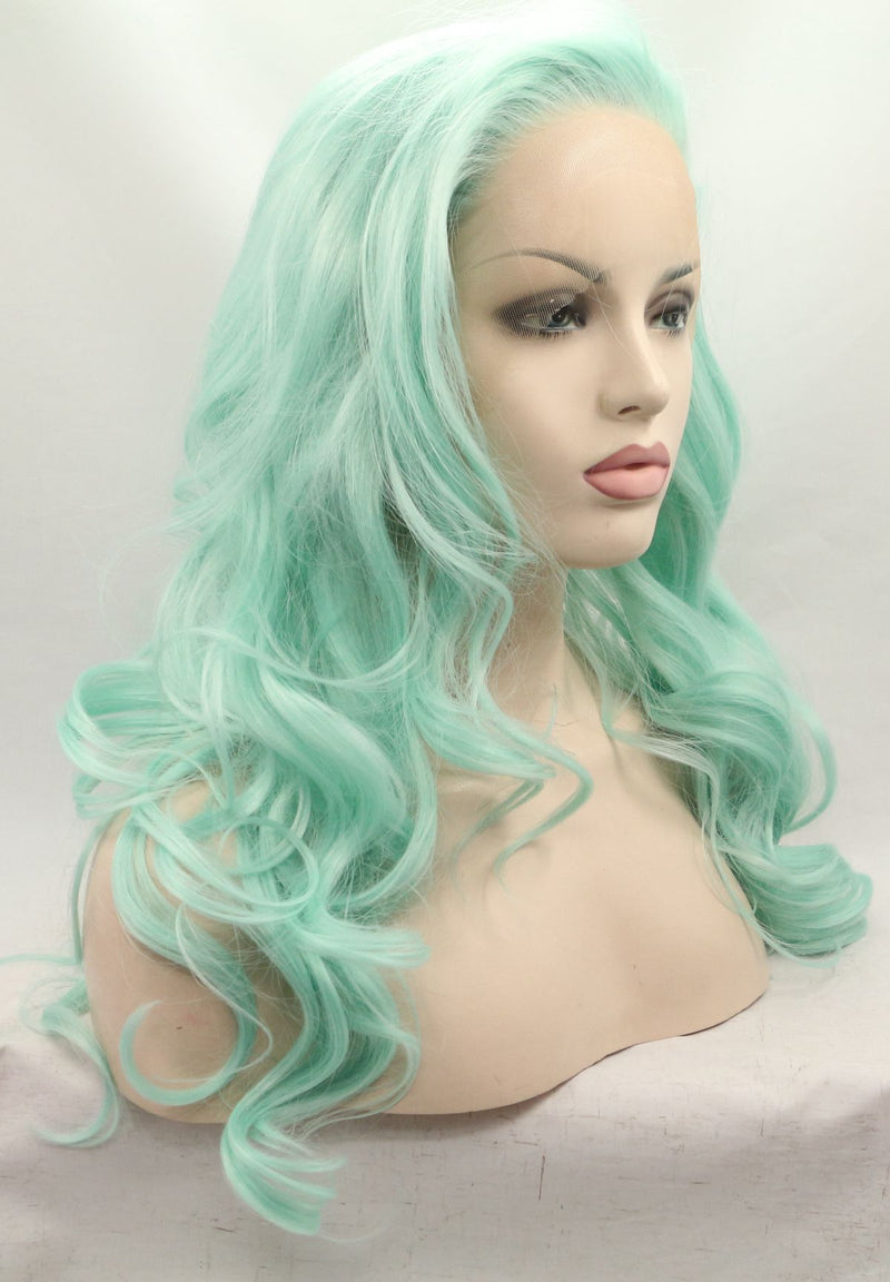 Easter Green Spring Synthetic Wig USW032