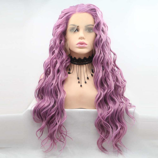 Athena Synthetic Lace Front Wig USW012