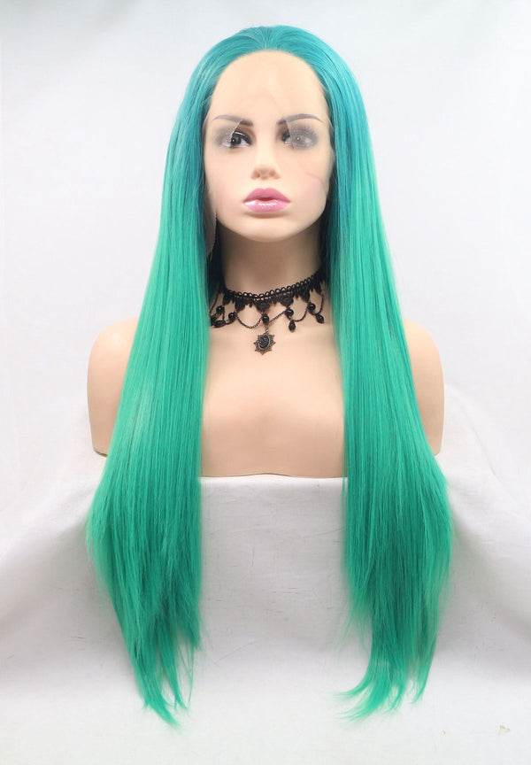 Avocado Green Two Tone Wig USW013