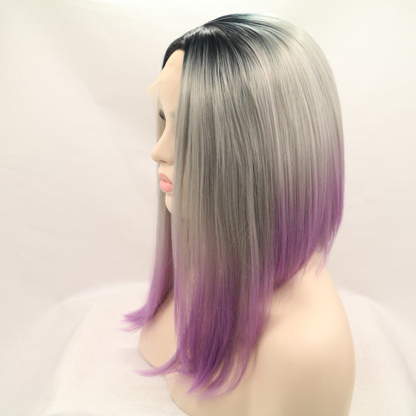 Ombre Purple Bob USW110