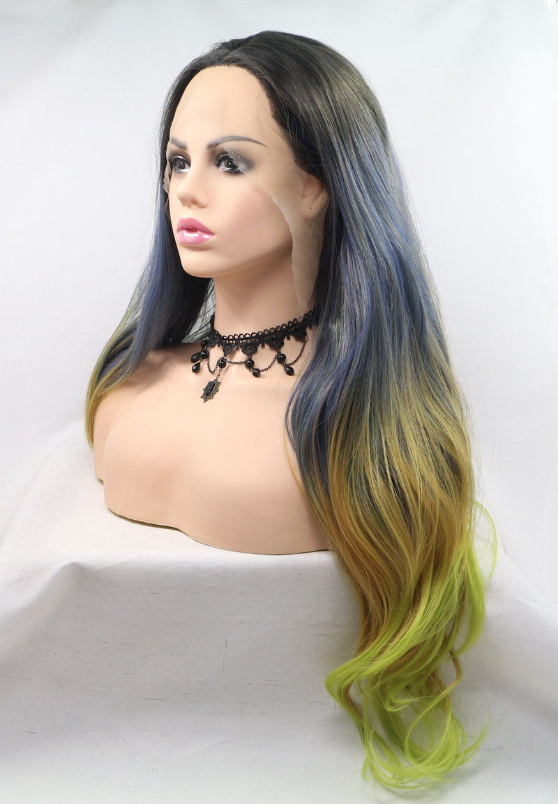 Melantha Long Synthetic Wig Spring Hairstyle USW057