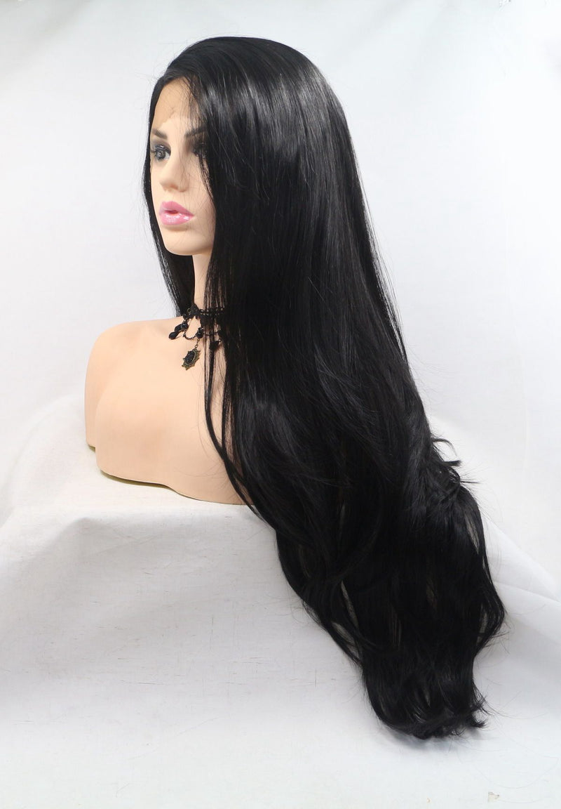 2# Black KANEKALON Synthetic Wig  USW03