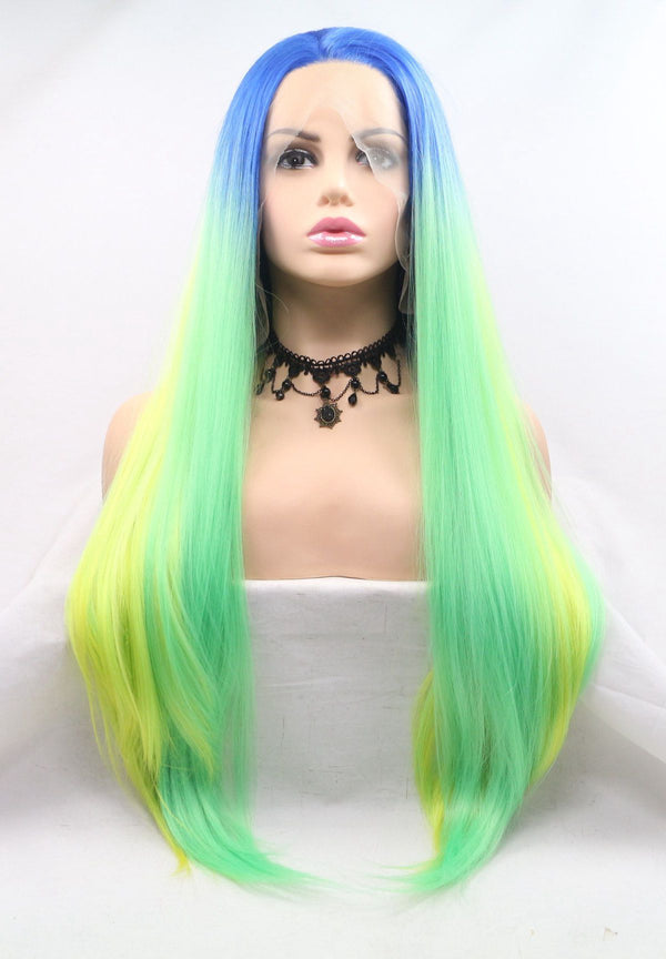 Mermaid Hair Synthetic Wig  USW059