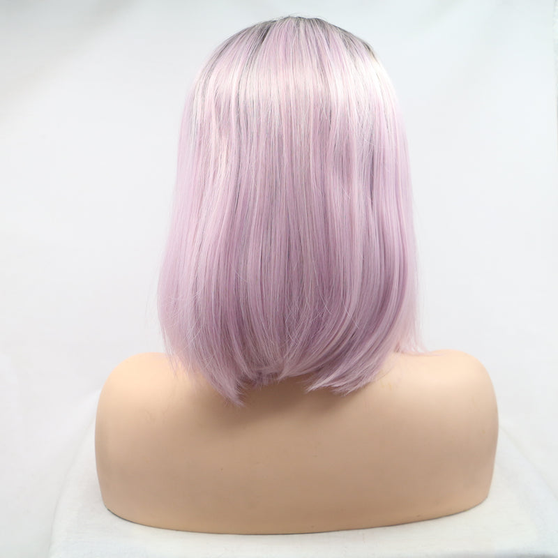 Pink Purple Mix color Bob USW102