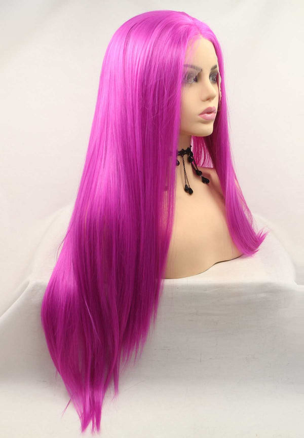 Rose Red KANEKALON Synthetic Wig USW128