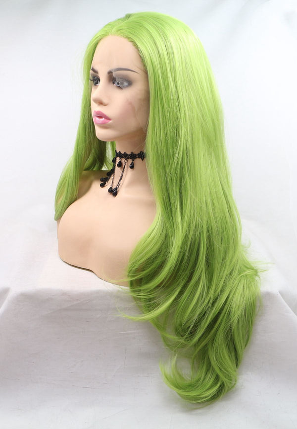 Matcha Kanekalon Wig Natural Wavy Hair USW118