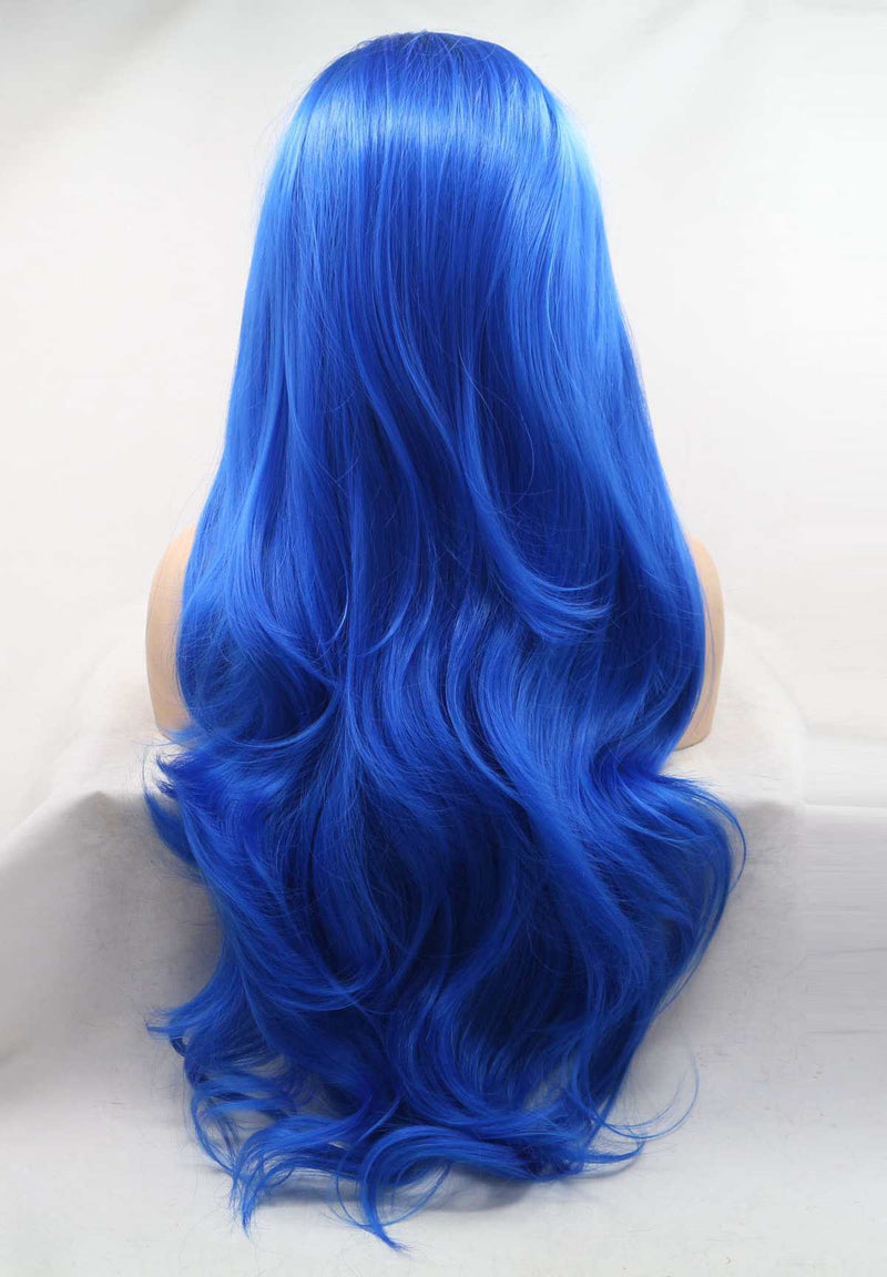 Sky Blue KANEKALON Synthetic Wig USW127