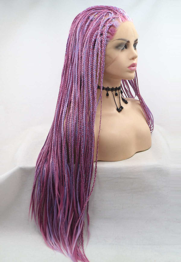 Colorful Braided Synthetic Wig USW132