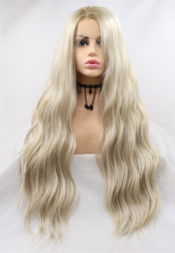 Diana Loose Wave Blonde Lace Front Wigs USW135