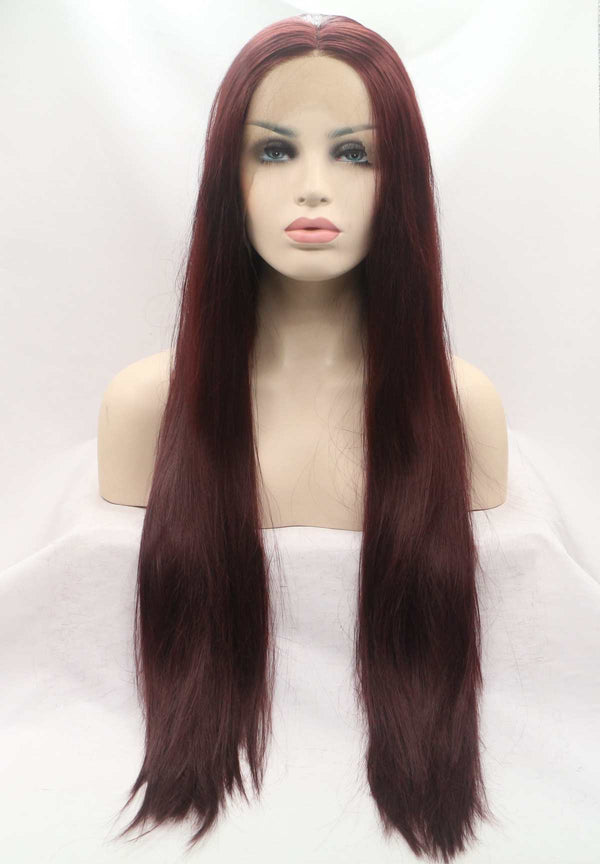 Mnemosyne Red Hairstyle USW063