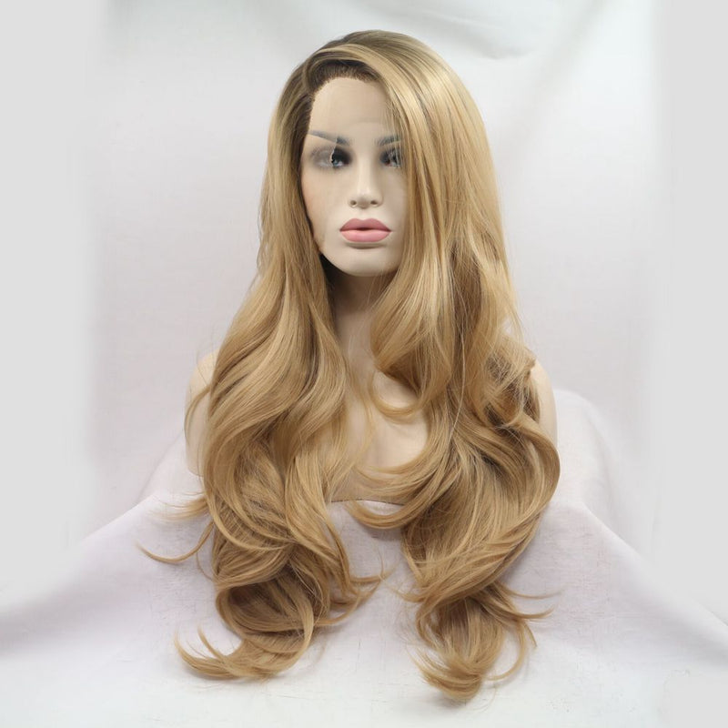 Astoria Blonde Hair Synthetic Blonde Wig USW011