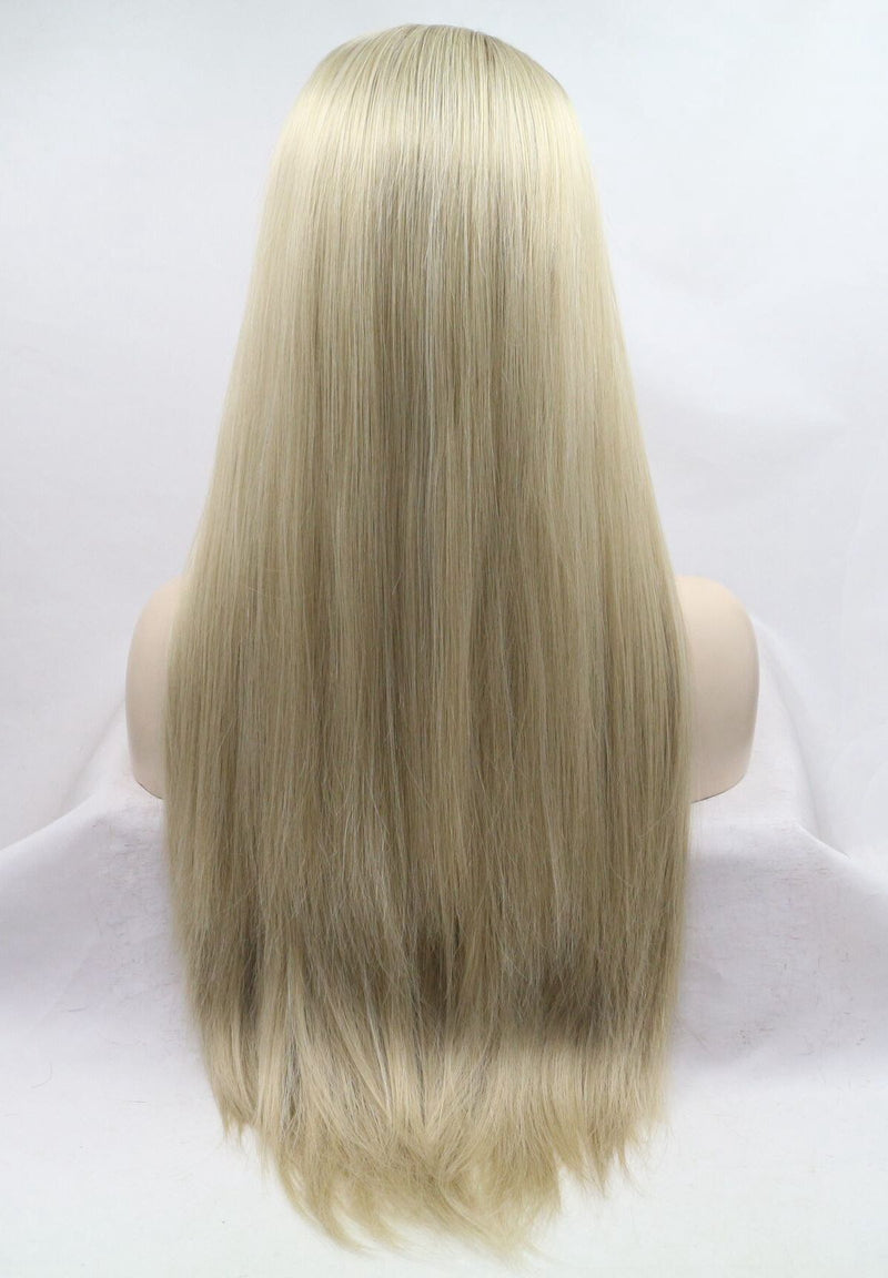 Dione Ombre Blonde Straight Wig USW030