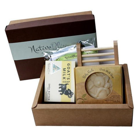Native Bliss - Gift Pack Shea Butter Essentials Soap Gift Pack - Eyes On Family Australia