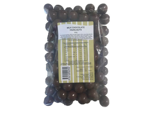 MILK CHOCOLATE HAZELNUTS 500G(BULK SALE) - Eyes On Family Australia