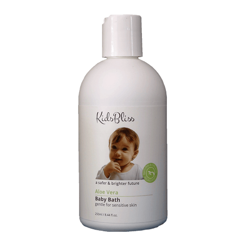 Kids Bliss Baby Bath(Aloe Vera) - Eyes On Family Australia