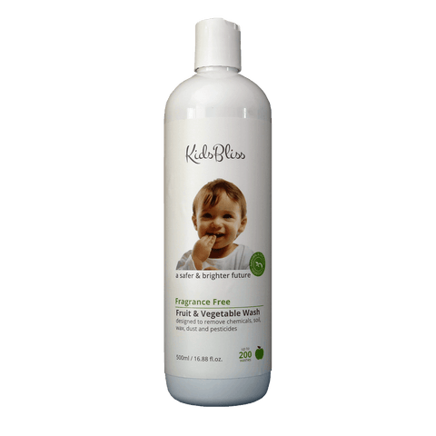 Kids Bliss Fruit & Vegetable Wash(Fragrance Free) - Eyes On Family Australia
