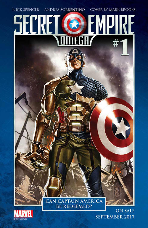 Marvel Unveils Secret Empire: Omega #1