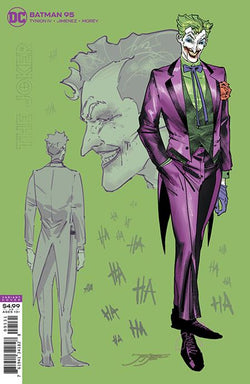 Batman #95 Incentive 1:25 Joker War