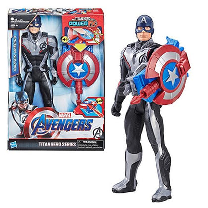 Avengers: Endgame Titan Hero Power FX Captain America 12-Inch Action Figure - State of Comics