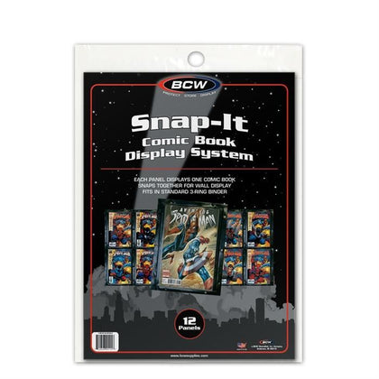 BCW Snap-It Comic Book Display System