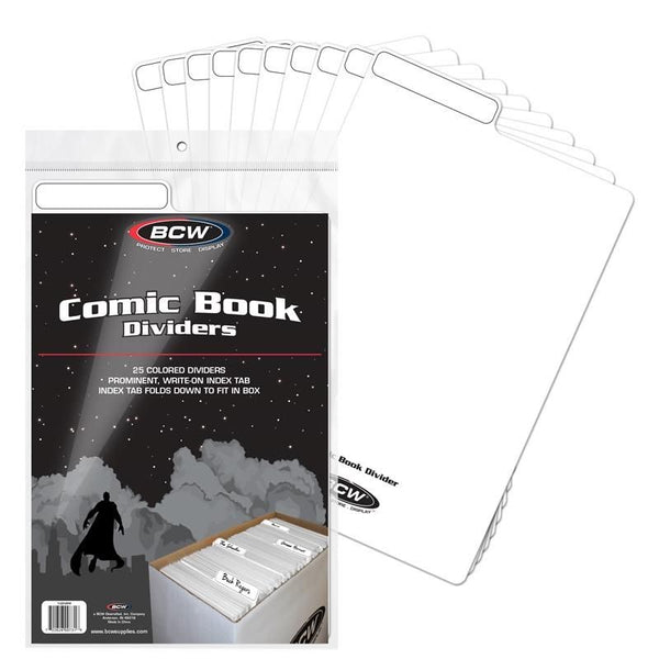 Comic Book Dividers White - State of Comics