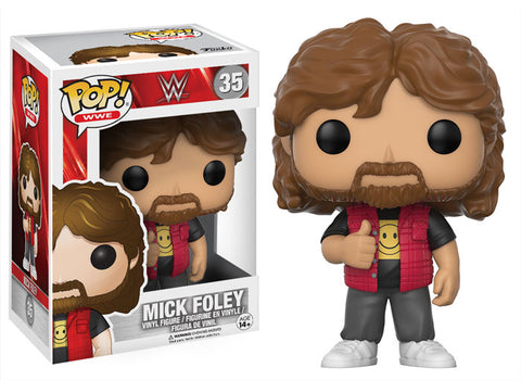 POP! WWE - Series Six - Mick Foley (Damaged Box 5/10)