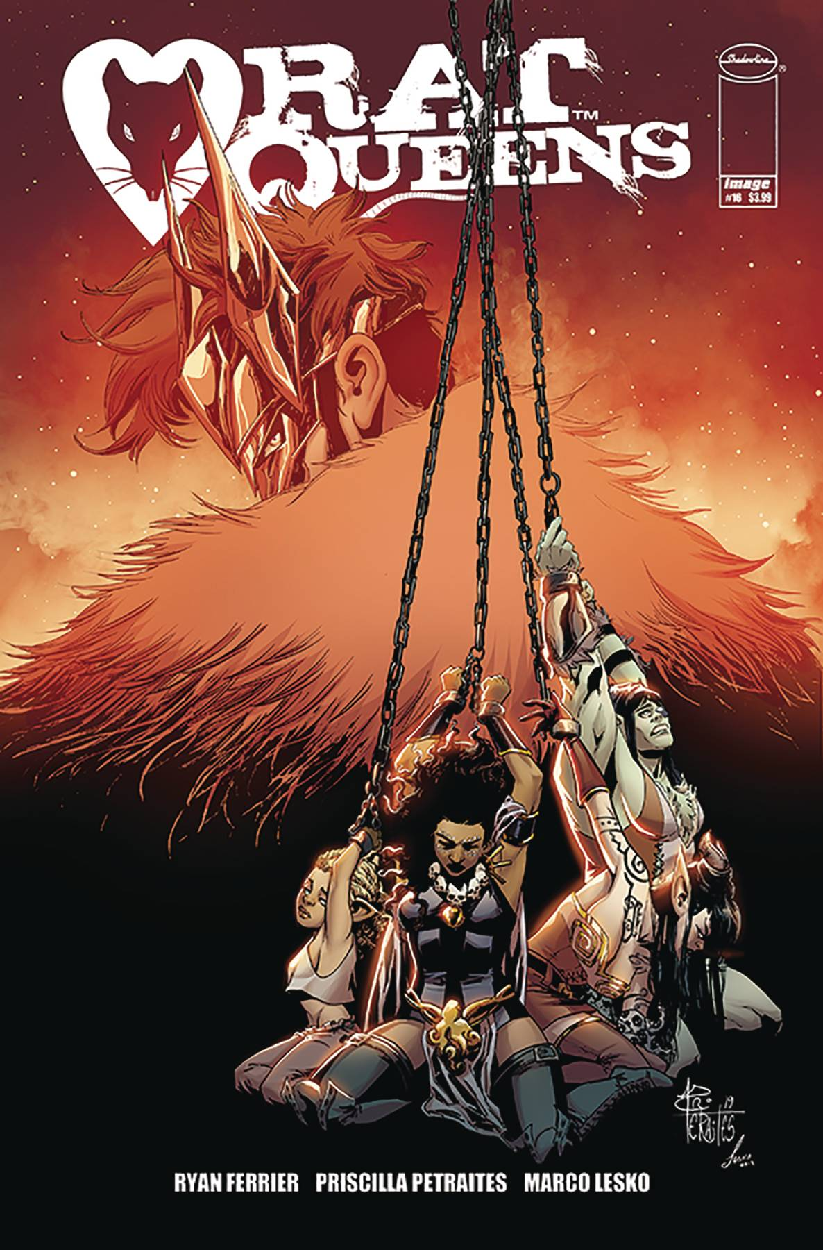RAT QUEENS #16 (MR)