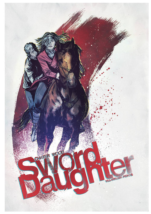 SWORD DAUGHTER #7 CVR B CHATER (NOTE PRICE) - State of Comics