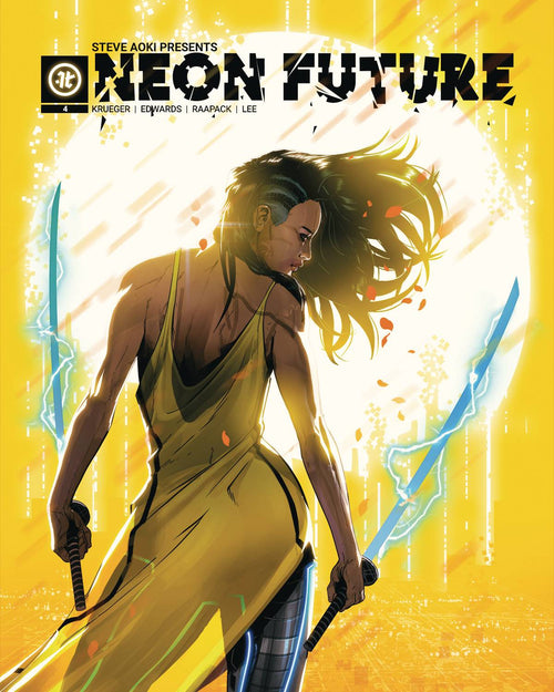 NEON FUTURE #4 (OF 6) CVR A RAAPACK (MR) - State of Comics