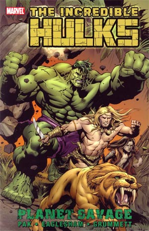 Incredible Hulks TP Planet Savage - State of Comics
